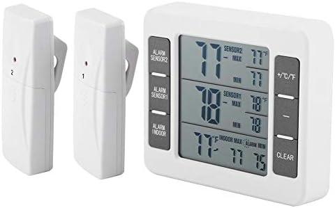 Kühlschrank Alarm : Wireless digital audible alarm kühlschrank thermometer mit