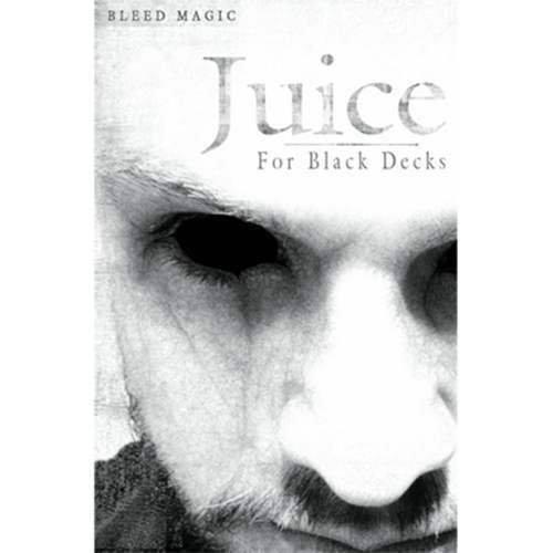 SOLOMAGIA Juice (for Black Decks) by - by Decks) Bleed Magic - Card Tricks - Tours et Magie Magique - Magic Tricks and Props 0570c1