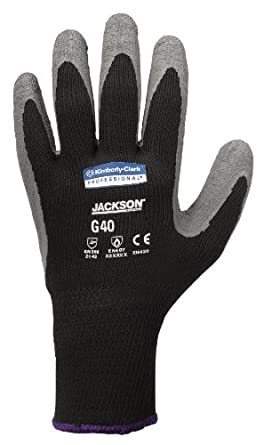 Jackson Safety G40 Latex Coated Glove, Small (Case of 60 Pairs)