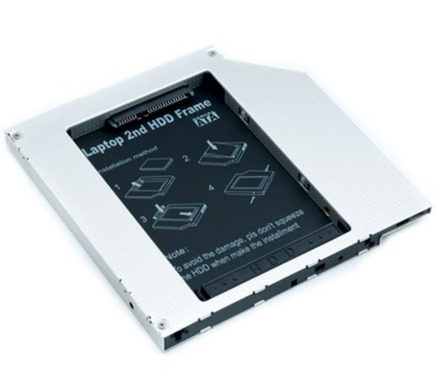 34 opinioni per CADDY SECONDO HARD DISK HD SSD NOTEBOOK 9.5 MM SATA TO SATA DRIVE