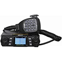 QYT KT-980 Plus Mobile Radio 75W 200CH Multiple Function VHF/UHF Dual Band Quad band Standby FM Vehicle Transceiver Radio (upgrade version of KT-UV980)