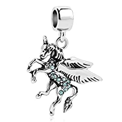 Metal:copper Color:white Themes:Friend,FairyTale,Animals&Pets Stone:Cubic Zirconia product details:Bruno the Unicorn represents pureness and strength, and the belief that love can overcome any obstacle. This copper charm is a true symbol ...