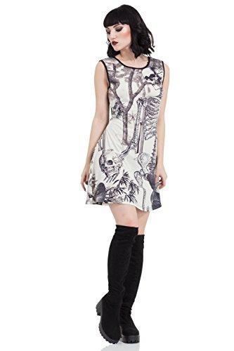Jawbreaker - Vestido - Mini - para mujer Beige