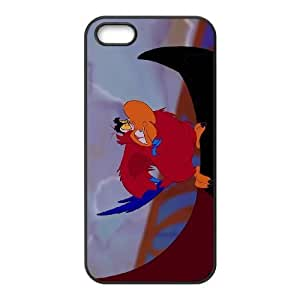 iPhone 5,5S Phone Case Black Aladdin Iago DZW9561247