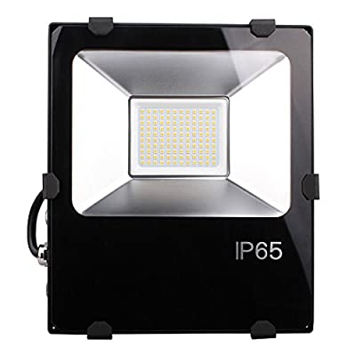 Outdoor 150W LED Flood Lights- 400W HPS or HID Bulb Equivalent- 15000lm-Cold White 5000K Floodlight - Meanwell Driver And Philips LED