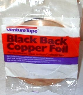 Copper Venture Foil (7/32 inch Venture Black Backed Copper Foil)