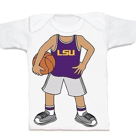 LSU tigres Heads Up. baloncesto bebé/camiseta, Varios: Amazon.es ...