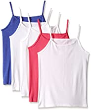 Fruit of the Loom Girls Assorted Cami (Pack of 5)
