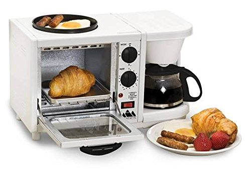 Granite Platinum Deluxe Portable 3-in-1 Family Size Multifunctional Breakfast Station by Granite (Image #2)