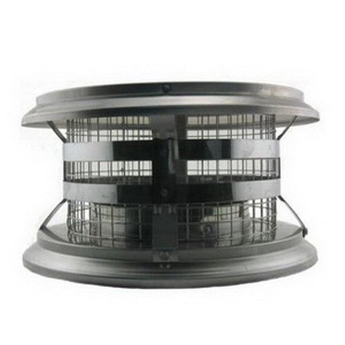 M G Duravent 8DT-VC 8 Inch Duratech Rain Cap Stainless Steel (Chimney All Fuel)