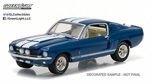 (1967 SHELBY GT-500 (Midnight Metallic Blue) Scottsdale Edition Barrett-Jackson Series 1 Greenlight Collectibles 2016 Limited Edition 1:64 Scale Die-Cast Vehicle by GL Muscle)