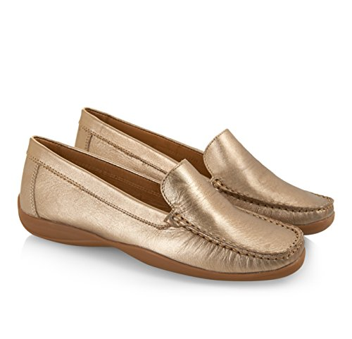 Marcia Loafers Moema Pewter Leather Teracotta SdzBBwHq