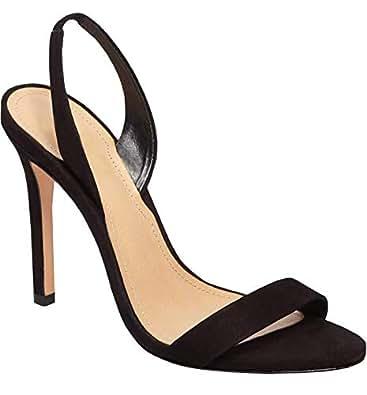 91f15c415e1ab Fashare Womens Peep Toe Leopard Pumps Shoes Stilettos High Heels Slip On  D'Orsay Party Dress Shoes