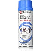 10-Seconds Shoe Deodorizer and Disinfectant - The Only EPA-Approved Shoe Disinfectant effective against Bacteria, Fungus, Mold, and Mildew