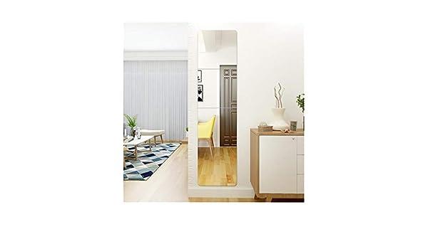 Espejo sin Marco montado en la Pared Fondo de sofá TV Fondo de casa Mural de Arte Decoración de la habitación DIY Autoadhesivo Espejo, 4 Piezas, 40 cm × 40 cm LDJ0530: Amazon.es: Hogar