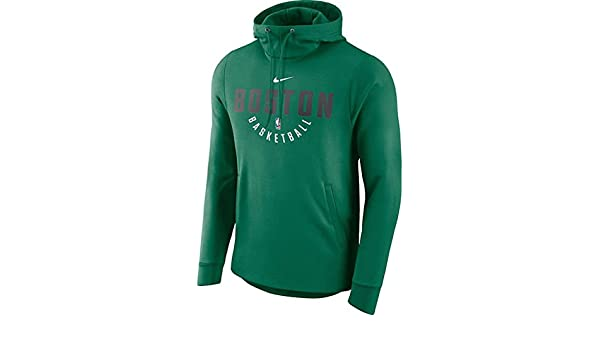 cheap for discount available discount sale Boston Celtics Nike Practice Pullover Performance Hoodie ...