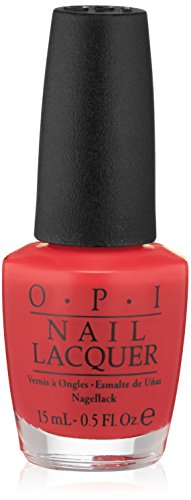 OPI Nail Lacquer, Color So Hot It Berns, 0.5 fl. oz. - New Opi Nail Lacquer