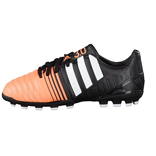 adidas Bota Jr Nitrocharge 3.0 TRX AG Black-White-Flash orange Black-White-Flash orange