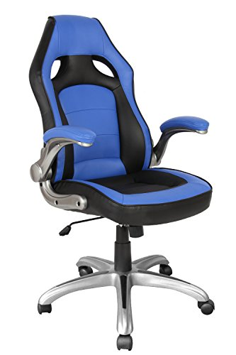 415kaUroLCL - Officelax Racing Chair Gaming Chair PU Leather Swivel Office Chair with Bucket Seat