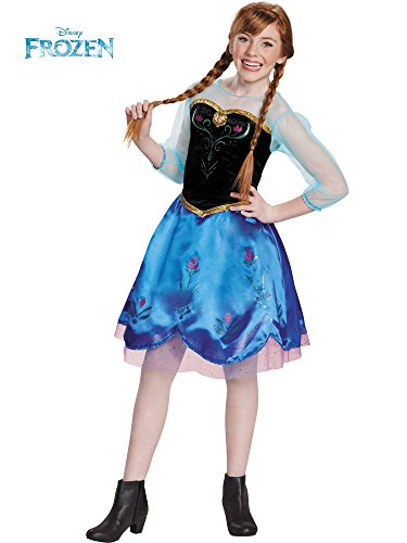 Disguise Anna Traveling Tween Costume