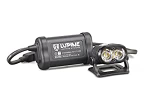 Lupine Lighting Systems Piko 4 Bike Helmet Light, 1500 Lumens LED with 3.3 Ah Rechargeable Battery