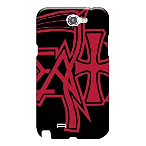 Scratch Protection Hard Cell-phone Case For Samsung Galaxy Note 2 With Unique Design High-definition Cradle Of Filth Band Series AlissaDubois