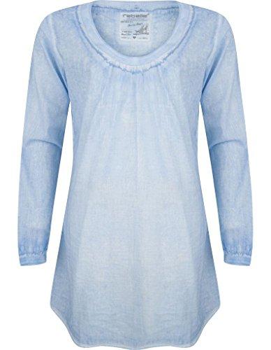 Rebelle 1171-271-2-540 Women's Bel Air Blue Cotton Beach Dress