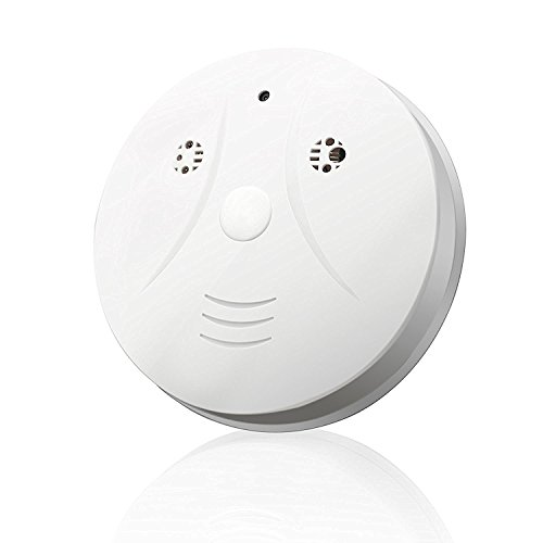 D-eyecam Indoor Spy Hidden Camera Smoke Detector Motion Detection Activated with Audio & Video Recording for Home Surveillance & Security (a Free 8G Micro SD Card) (Spy Camera Inside Car compare prices)