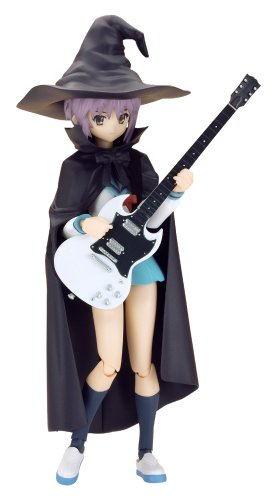 Max Factory The Melancholy of Haruhi Suzumiya: Yuki Nagato Figma Action Figure Evil Witch  Ver