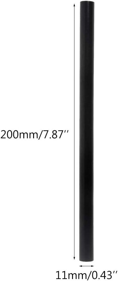 hohe Viskosit/ät A0127 Hei/ßkleber 5 St/ück sehr stark 11 mm schwarz selbstklebend Reparatur-Werkzeug