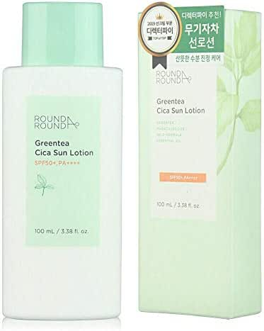 GREENTEA CICA SUN LOTION 100mL SPF50+,PA++++ KOREA Beauty