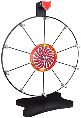 Cheapest Prices! Moon Glow Sports Prize Wheel 12 Inch-Whiteboard Tabletop Spinning Wheel with Stand,...