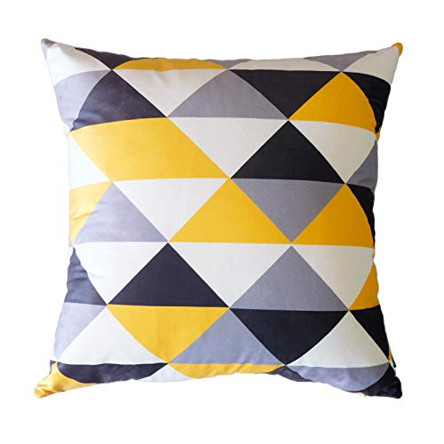 Viento nórdico almohada terciopelo almohada geométrica ...