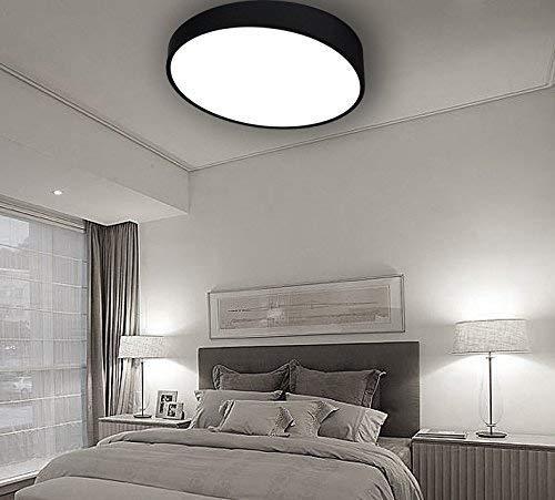 Amazon.com: tiptonlight plafón blanco con luz blanca ...