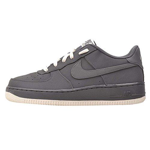 Nike Air Force 1zapatillas turnschuh Joven Grau (Dark Grey/Sail)