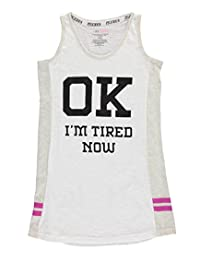 "PJ Licious Big Girls' ""I'm Tired Now"" Nightgown"