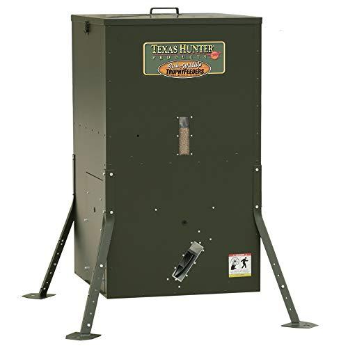 Texas Hunter Directional Fish Feeder w/Adjustable Legs - 250 lb. Fish Feed Capacity - Model DF425AL ()