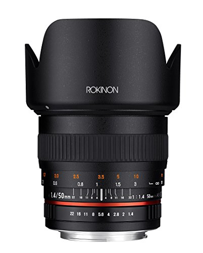 Rokinon 50mm F1.4 Lens for Canon EF Digital SLR