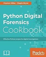 Python Digital Forensics Cookbook Front Cover