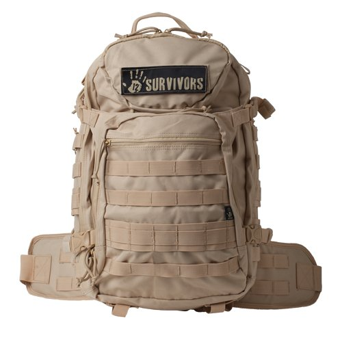 12 Survivors Tactical Backpack, Tan