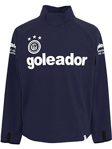 統計的明示的にgoleador(ゴレアドール) スムースハイネックプラシャツ G-2164