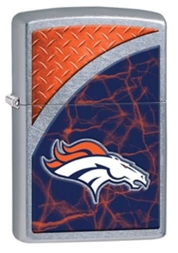 Lighter Denver Nfl Zippo Broncos (Latest 2016 Style Personalized Zippo Lighter NFL - Free Laser Engraving … (DENVER BRONCOS))