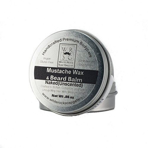 All Natural Mustache Wax & Beard Balm by White Rock Soap Gallery
