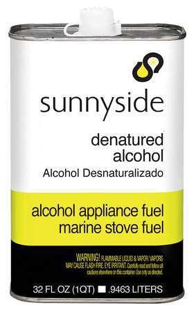 Denatured Alcohol Solvent, 1 qt. -