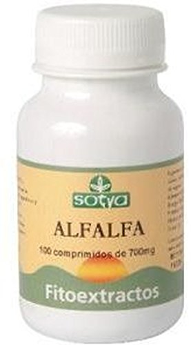 Alfalfa 100 comprimidos de 700 mg de Sotya