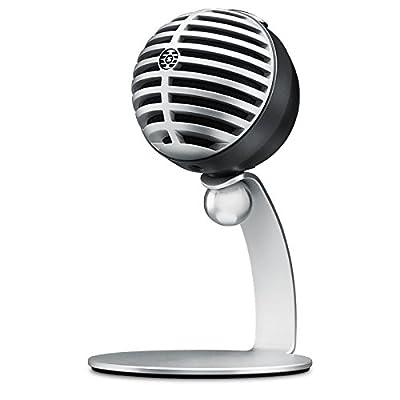 Shure MV5-B-LTG Digital Condenser Microphone with USB & Lightning Cable