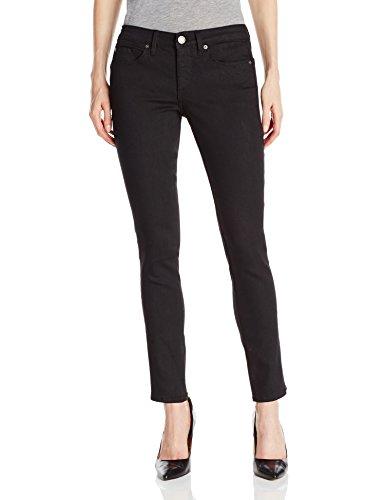 Calvin Klein Jeans Women's Curvy Skinny Jean,Black,32/14 Reg