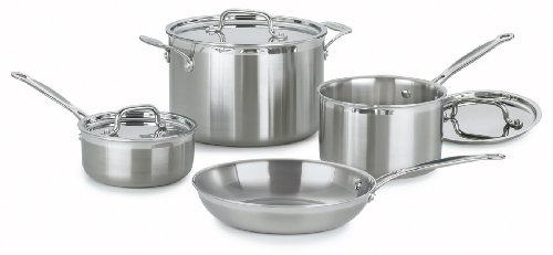 Cuisinart MCP 7 MultiClad Stainless Steel Cookware