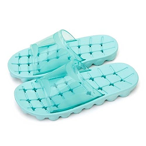 slip Unisex Women Slippers Sandal Beach Non Household Bathroom Shower Maybest Men Green ISdqBIap