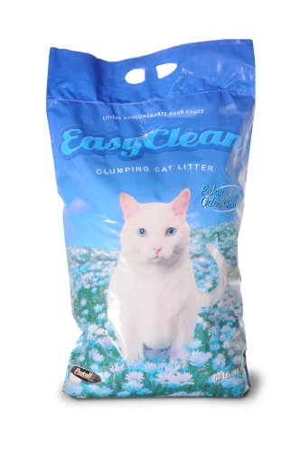 Pestell Pet Products Easy Clean Scoopable Litter with Baking Soda 40lb Poly Bag with Handle, My Pet Supplies